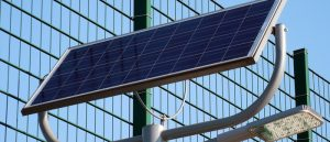Install the solar panel system which will also include the smart battery